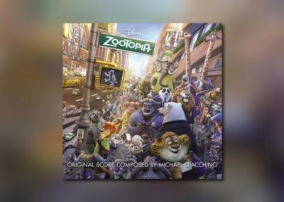 Michael Giacchinos Zootopia bei Walt Disney Records