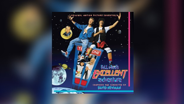 Intrada: Bill & Ted's Excellent Adventure als Neuauflage