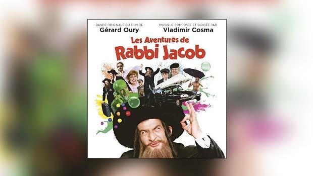 Vladimir Cosmas Les aventures de Rabbi Jacob wieder erhältlich