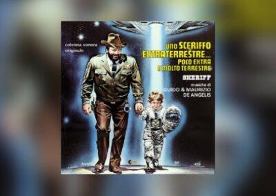 Der Große mit seinem außerirdischen Kleinen