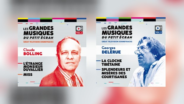 Neu bei Music Box: TV-Musik von Claude Bolling und Georges Delerue