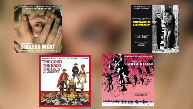 Neu von Quartet: Herrmann, Barry, Morricone & Addison