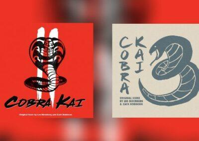 Cobra Kai Season 2 & 3 von La-La Land Records