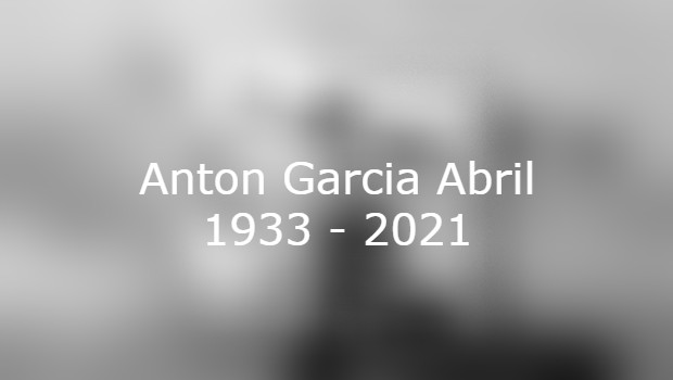 Antón García Abril verstorben