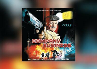 Neu von Intrada: Michael Kamens Company Business als Doppelalbum