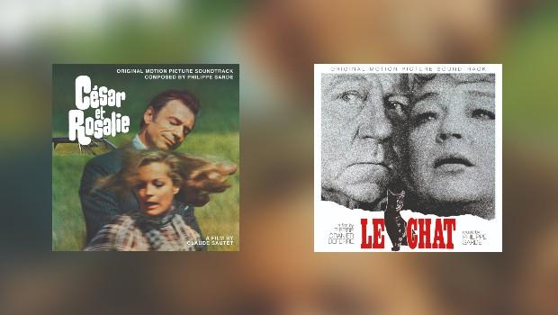 Neu von Quartet: 2 x Philippe Sarde