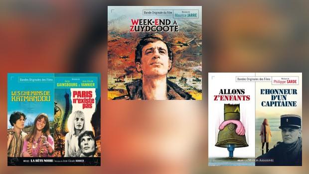 Neu von Music Box: Jarre, Gainsbourg, Vannier und Sarde