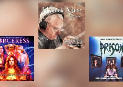 Dragon's Domain im Juli: Hummie Mann, Chuck Cirino, Richard Band & Christopher L. Stone