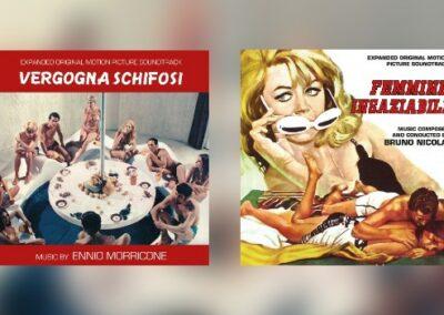 Neu von Quartet: Ennio Morricone & Bruno Nicolai