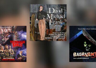 Neu von Dragon's Domain: David Michael Frank, Chuck Cirino & Alan Howarth