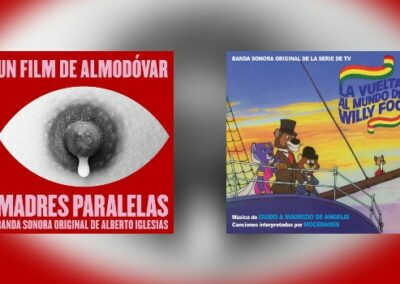 Neu von Quartet: Alberto Iglesias + Guido & Maurizio de Angelis
